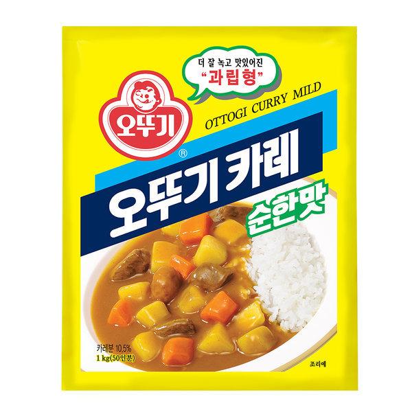 오뚜기 카레 순한맛 1kg /대용량 상품이미지