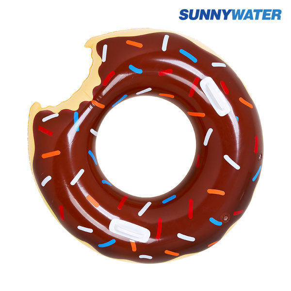 초코 도넛 튜브 100cm 원형 라이더 라운지 물놀이용품 상품이미지