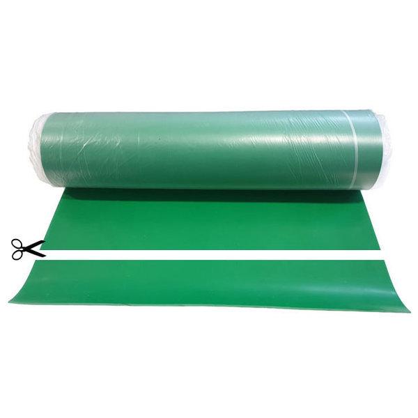 녹색 크로마키 작업대 바닥 고무 3.2mm x 91cm x 10cm 상품이미지