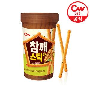 청우 참깨스틱 진 85g/쿠키/과자/간식/스낵