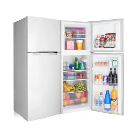 소형냉장고 138L 2도어 미니 원룸 일반 냉장고 메탈S