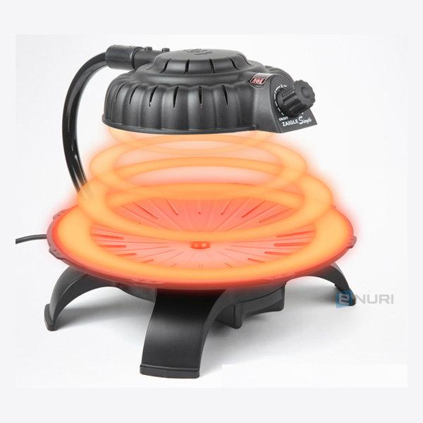 스마트초이스 자이글심플 적외선 웰빙전기그릴/전기팬 상품이미지