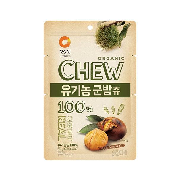 청정원 츄앤리얼 유기농군밤츄 80g x 30개입 상품이미지