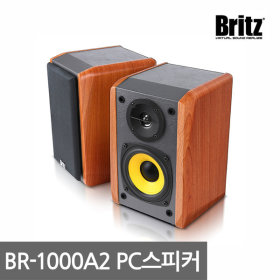 브리츠 BR-1000A2 1000A 2 채널 북쉘프 스피커 정품