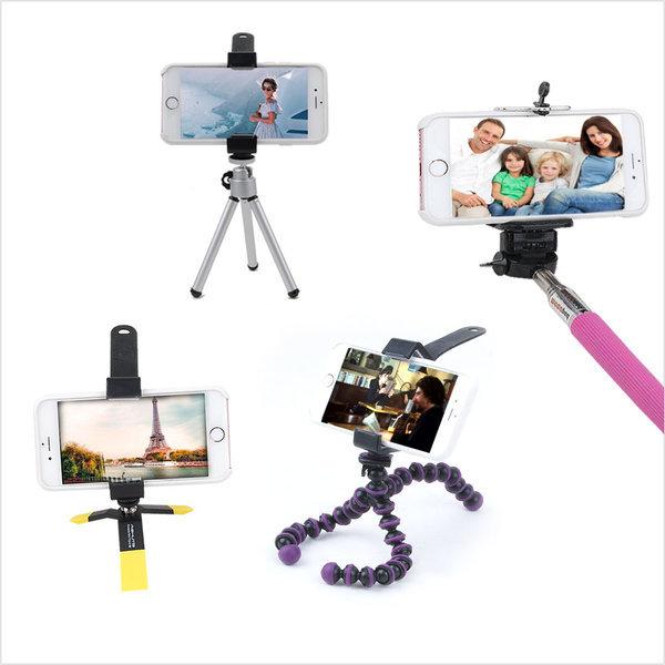 스마트폰 삼각대 휴대폰 셀카봉 셀카 여행 캠핑 촬영 상품이미지