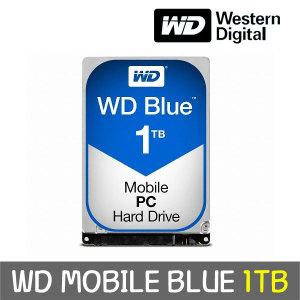 [웨스턴디지털] WD MOBILE BLUE 1TB 7mm WD10SPZX +正品 공식판매점+