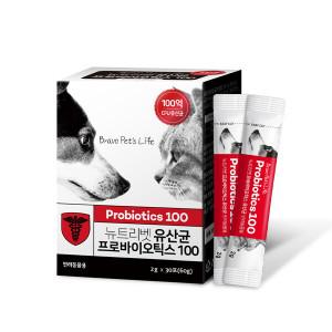 강아지/고양이 유산균 뉴트리벳 프로바이오틱스 100억