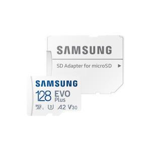 [삼성전자] 삼성신형정품 EVO PLUS 128GB 마이크로 SD+SD아답터