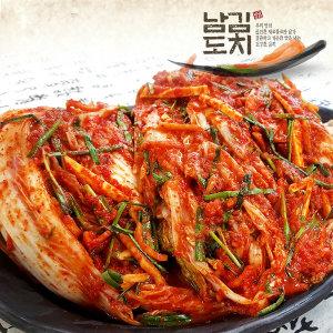 남도김치 100%국내산 생 보쌈김치 3kg/배추김치