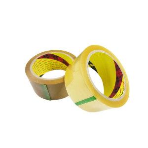 [3M] 3M 372KS 포장용 박스테이프 4계절용 50m 투명 갈색