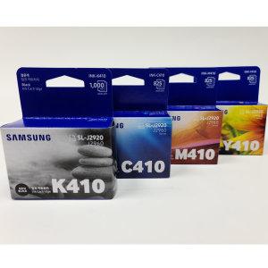 [삼성전자] 삼성정품잉크 INK-K410+C410+M410+Y410 /4색세트