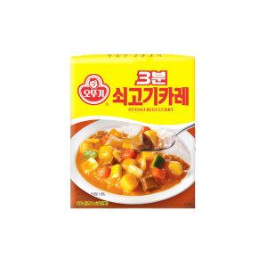 [3분요리] 오뚜기 쇠고기카레200g/카레/짜장/미트볼/3분요리