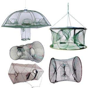 원터치자동통발 8구6구통발 우산통발 사각 원형통발
