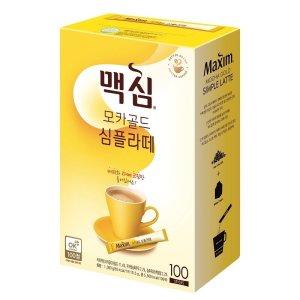 [동서] 동서식품 맥심모카골드심플라떼 100T 1050G