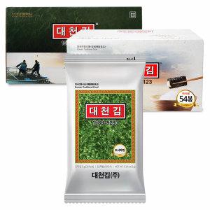 [대천김] (C154)대천김 재래도시락김(5g)X54봉 세트