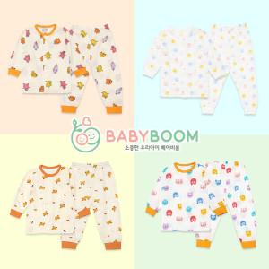 [베이비붐] G유아아동내의.신생아기아가유아내의류복수면조끼폴라
