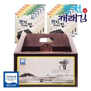 [광천김] 재래 전장김 선물세트 10봉x30g