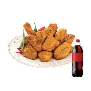 [굽네치킨] (굽네치킨) 굽네 고추 바사삭+콜라1.25L