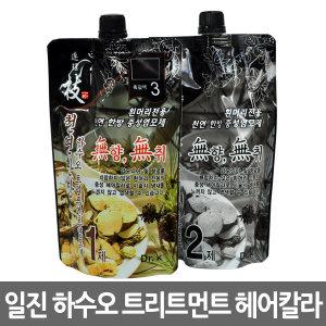 일진 연리지 하수오 트리트먼트 헤어칼라 염색약/웰라