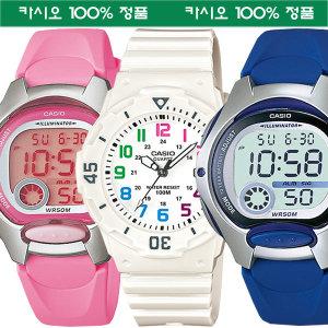 [카시오] 카시오 어린이아동 초등학생 방수전자손목시계 여자