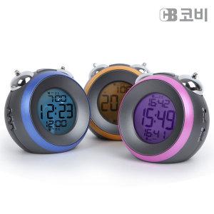 코비 시끄러운 LED 알람시계 탁상시계 TA22