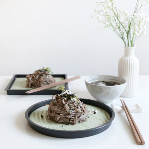 일본 타나카 소바접시/모밀접시/냉모밀판/메밀판