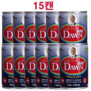 여명808 119mlX15캔/숙취해소/모닝케어/음주전후/해장