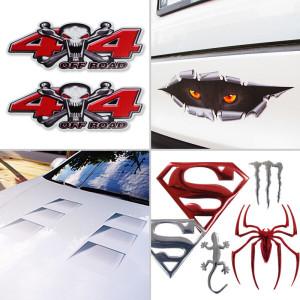 3D입체 스티커 모음전 /데칼/배틀/총알 자동차 바이크