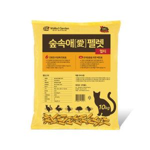 숲속애 펠렛 멀티 10kg 1개/베딩용/고양이모래/베딩
