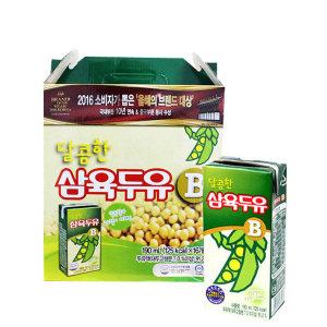 [삼육두유] 삼육 달콤한삼육두유B 190ml x 16팩 스마일배송