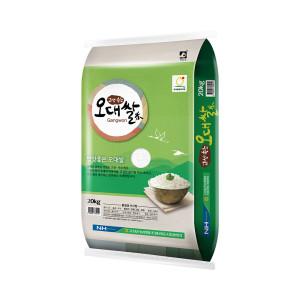 [농협] 고성농협 오대쌀 20KG 20년산 햅쌀