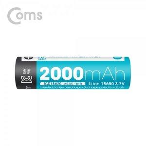 [컴스] LB100 18650 보호회로 리튬이온 충전지배터리  65mm