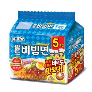 [팔도비빔면] 팔도 비빔면 40봉 +손청결티슈(10매입) 3개
