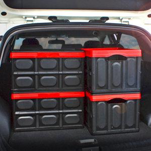[킨톤] 킨톤 트렁크정리함 접이식 하드케이스 자동차 캠핑 57L