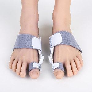 핀처 무지외반증 교정기 2개+실리콘 발가락 한쌍 엄지
