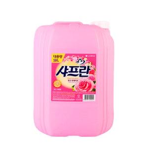 [샤프란] 대용량 샤프란 핑크센세이션 20L 섬유유연제/헹굼세제
