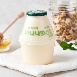 [바나나맛우유] 빙그레 바나나우유 240ML