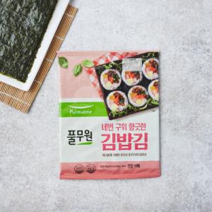 [풀무원] 풀무원 두번 구운 김밥김 (10매)