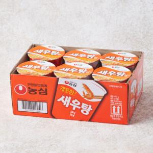 농심 새우탕컵면 (67G 6입)