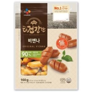 [CJ제일제당] 더 건강한 햄 비엔나(160G)