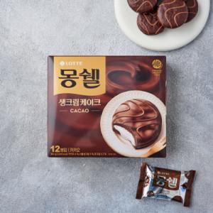 [몽쉘] 롯데 몽쉘 카카오크림 384G