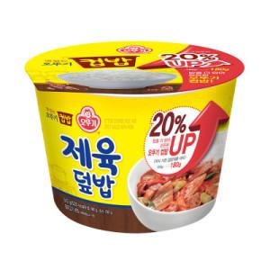 [오뚜기밥] 맛있는 오뚜기컵밥 제육덮밥 280G