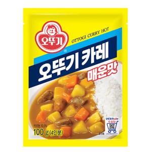 [오뚜기] 오뚜기 카레(매운맛) 100g