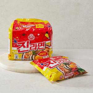 [진라면] 오뚜기 진라면(매운맛) 120g x 5입