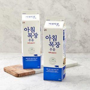 [아침목장우유] 남양 아침목장우유 900ML 2입