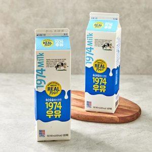 [부산우유] 리얼)1974 우유 900ML