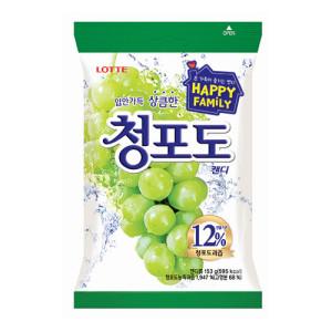 [청포도] 롯데)청포도캔디153G