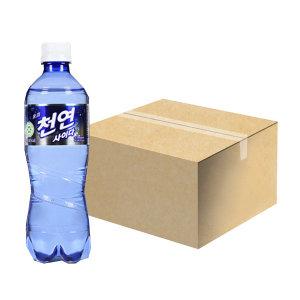 [천연사이다] 일화 천연사이다 500ml x 20pet 1박스 탄산음료