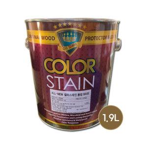 [노루페인트] 노루페인트 목재보호용 올뉴 칼라스테인 무광 1.9L