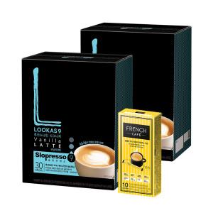 [루카스나인] 커피믹스/아메리카노/원두/루카스나인 바닐라60+믹스10
